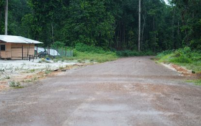 $126M roadworks from White Hill to Issano 90% completed