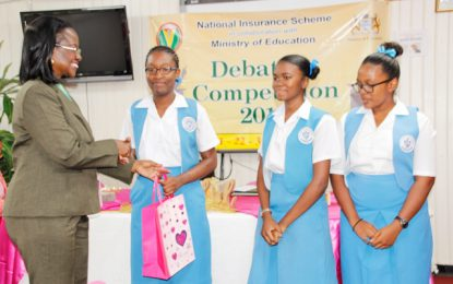 St. Joseph High School wins NIS 50th Anniversary Debating Competition