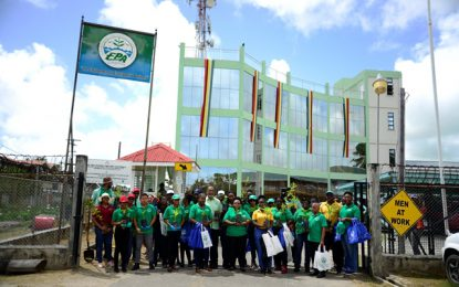 23 Plants for 23 years of EPA's presence in Guyana