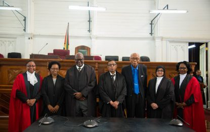 Five Senior Counsel admitted to Inner Bar