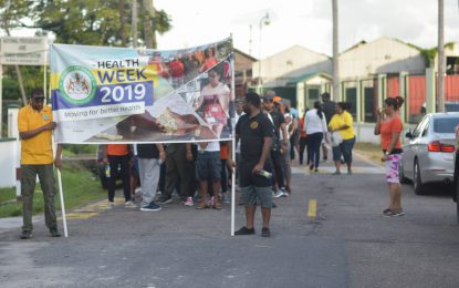 Finance Ministry kicks off 'Health Week 2019'