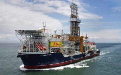 Drillship Stena Forth to start drilling Orinduik block by month end