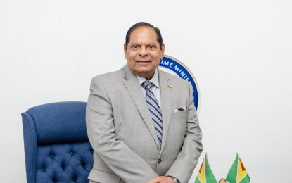 Joint talks for GECOM Chair held in good faith – PM Nagamootoo