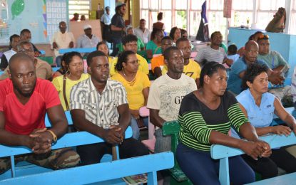 'We are listening to you' – DG Harmon to Martindale residents