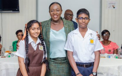 Two public school students cop top spot at NGSA 2019