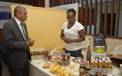 Linden entrepreneurs urged to seize opportunities
