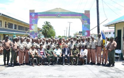 Guyana National Cadet Corps officially concludes second training camp