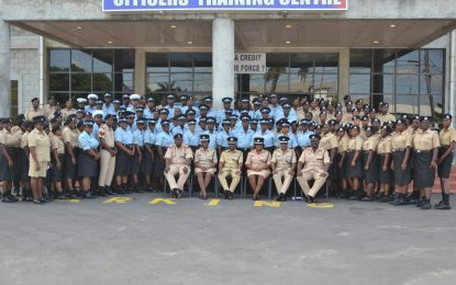 More training for police officers – 140 complete capacity building exercise
