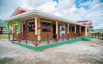 $17M maternity waiting home commissioned at Annai