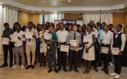 77 Youths Graduate Workforce Development Programme