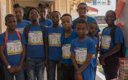 Creating holistic children – 92 transition students complete Youth camp