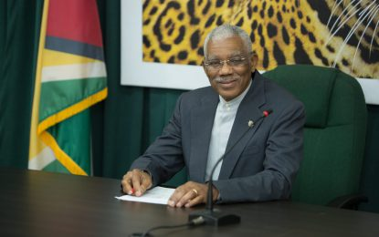 Cordial meeting held between Pres. Granger and opposition leader