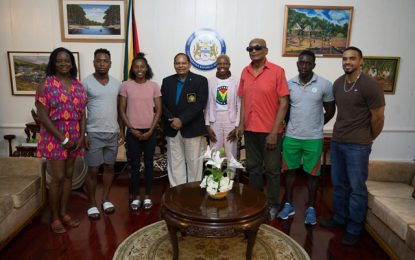 """You have made Guyana Proud"" – PM Nagamootoo tells Olympians"