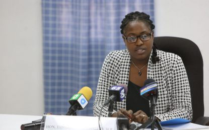 Min. Sarabo-Halley transforming Public Service