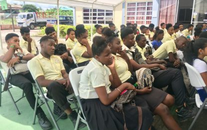 Berbice Youths educated on benefits of the oil and gas industry