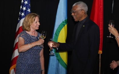 US continues to be one of Guyana's most significant trade and investment partners – Pres. Granger