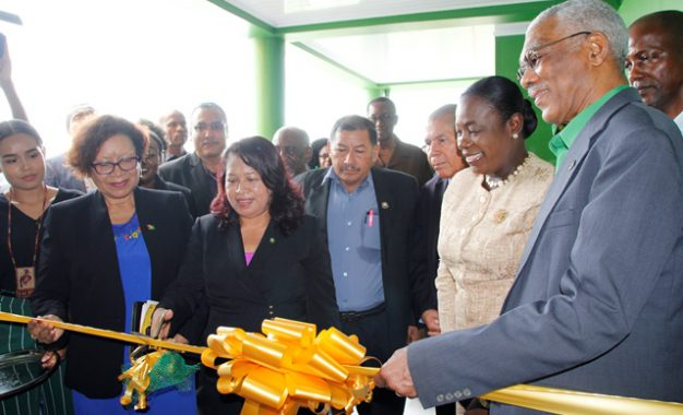 """""""Education is now moving on the correct path,"""" says President David Granger"""