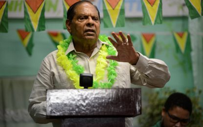 Opposition turned govt into 'real estate agency' – PM Nagamootoo