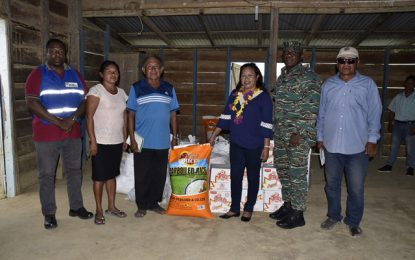 Minister of State responds to food aid request from Kurukubaru