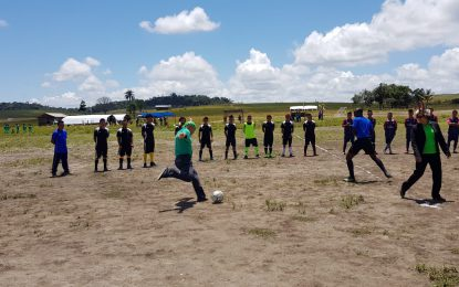 North Pakraimas football tournament gets underway