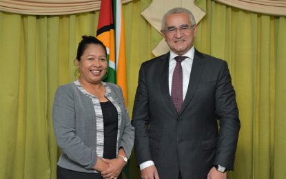 Minister of State receives courtesy call from Ambassador of Azerbaijan
