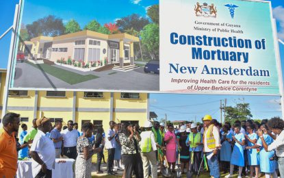 Sod turned for multi-million-dollar mortuary at New Amsterdam