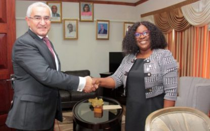 Azerbaijan offers training and scholarships to Guyanese