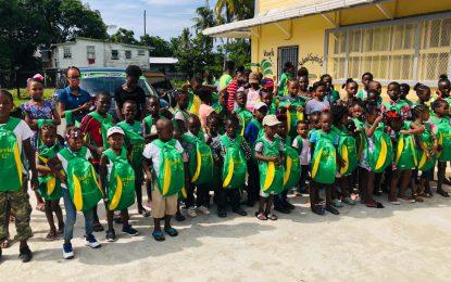 Reg. 5 students get first 'David G' school bags