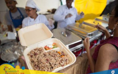 Guyana's dishes hit the right spot at CARIFESTA XIV