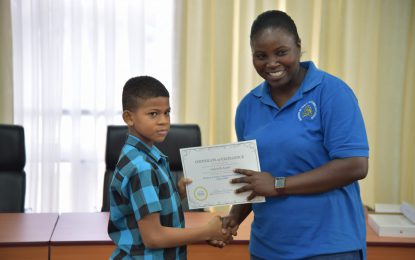 215 youths complete 'ICT Code Camp' for 2019