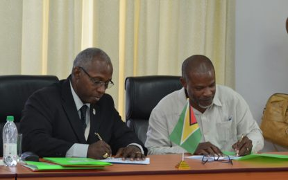 GNBA and GTA signs MoU