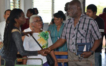 """Govt is people centered"" – Min. Felix tells Long Creek residents"