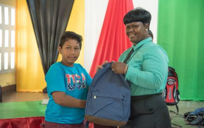 100 children outfitted in 'Back to School' Drive