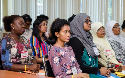 """""""Our actions today will determine their world of tomorrow"""" – Min. Ally tells facilitators"""