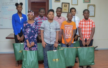 MoPH recognises NGSA students