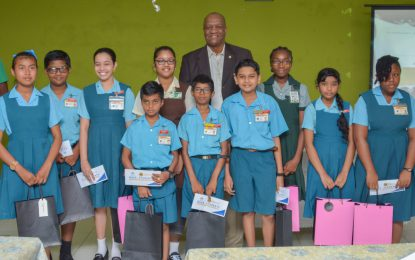 Reg. 3 NGSA students honoured for stellar performance