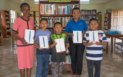 Lethem library gets laptops
