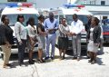 Regions 3 and 4 get new ambulances
