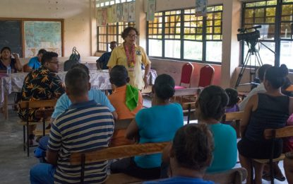 Arawak Language to be revived in Orealla /Siparuta
