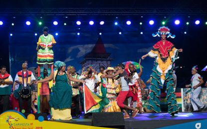 'Guyana Night' lives up to expectations at CARIFESTA XIV