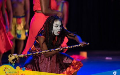 Local drama group spotlighted at CARIFESTA XIV