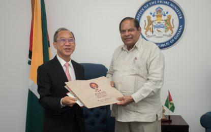 Thailand envoy says farewell