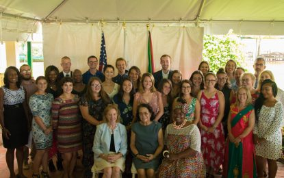 New cohort of Peace Corps Volunteers sworn in