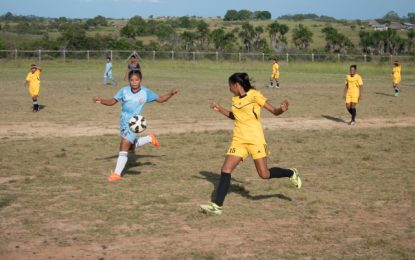 Awarewaunau steals spotlight at South Rupununi Games