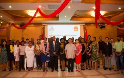 20 Guyanese students head to China