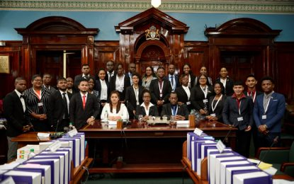 University of Guyana brings the curtain down on 5th Youth Parliament