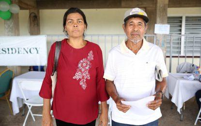 Mahdia resident gets birth certificate