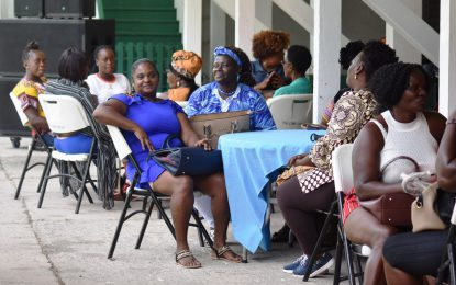 """""""Women in agriculture deserve equal opportunities, support and appreciation,"""" Min. Adams- Yearwood"""