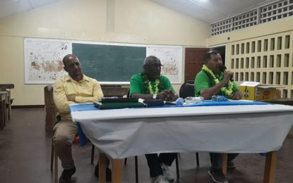 'Managing your community is about leadership and responsibility' – Min. Allicock