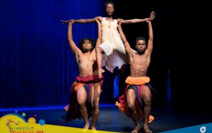 Standing ovation for Guyana's dancers